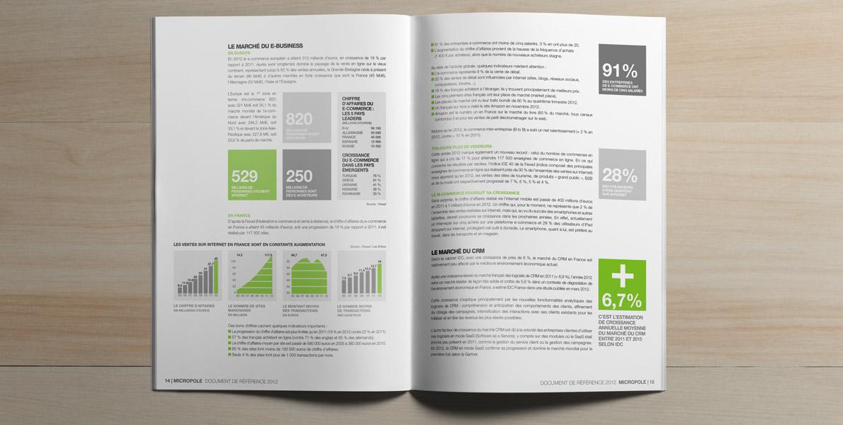 Micropole Rapport annuel 2012