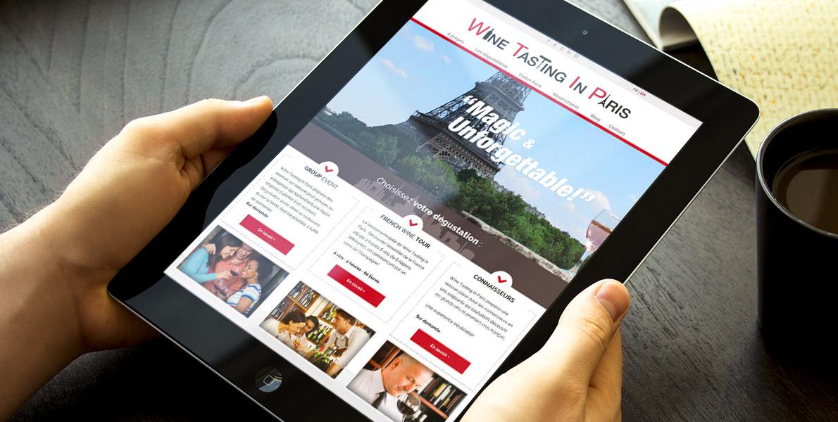 Site Wine Tasting in Paris