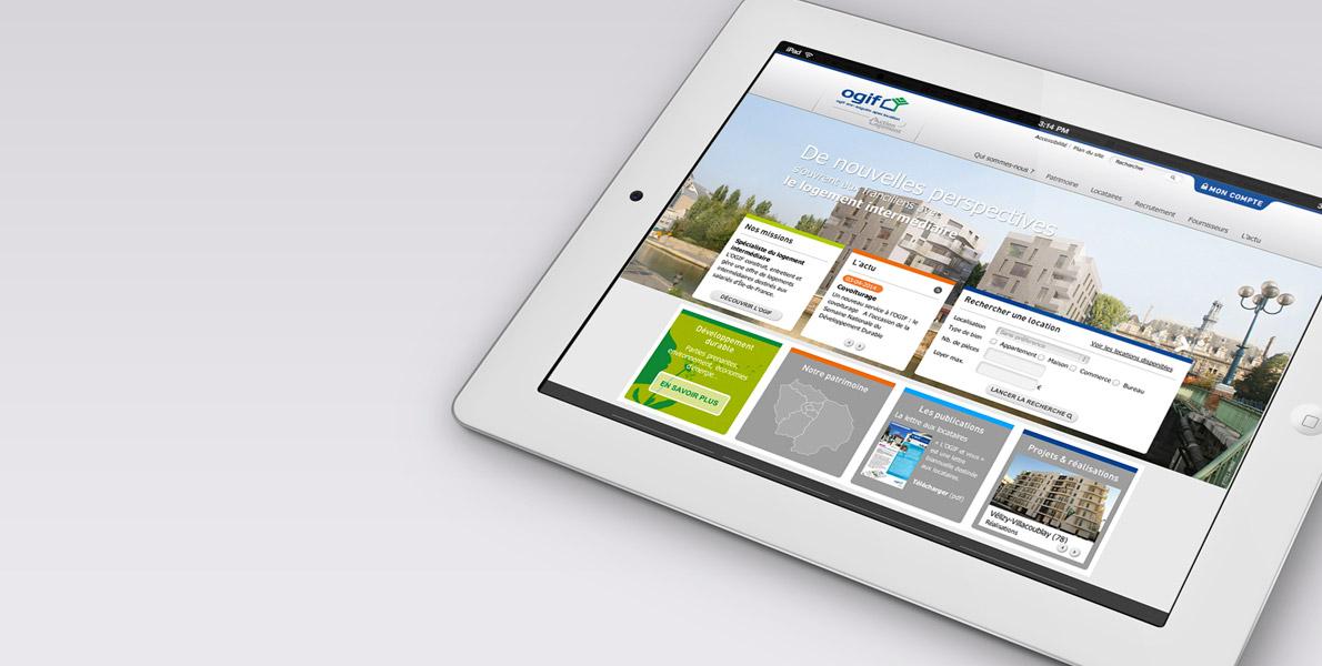 header Ogif site web