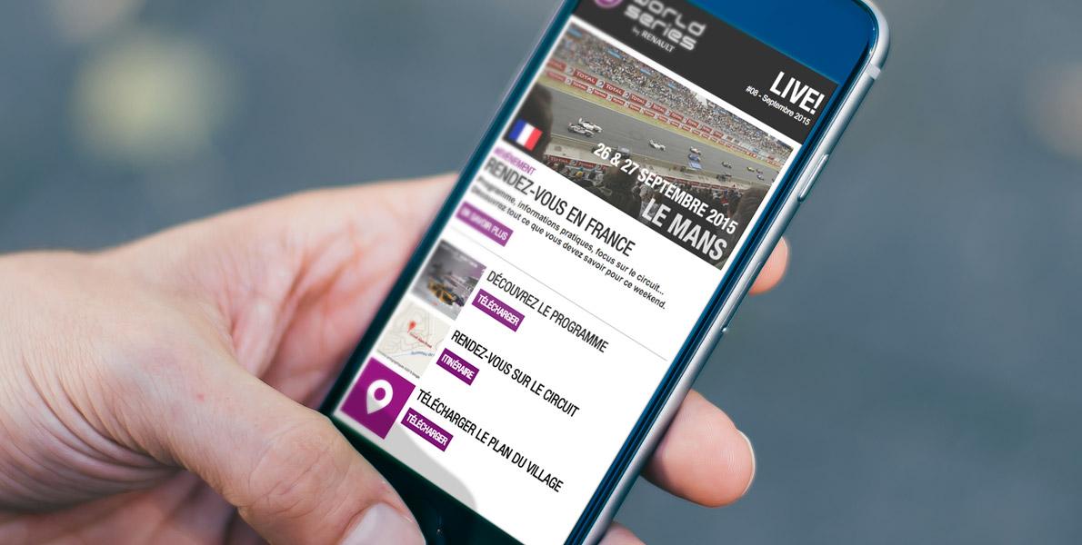 Visuel newsletter WSR Smartphone