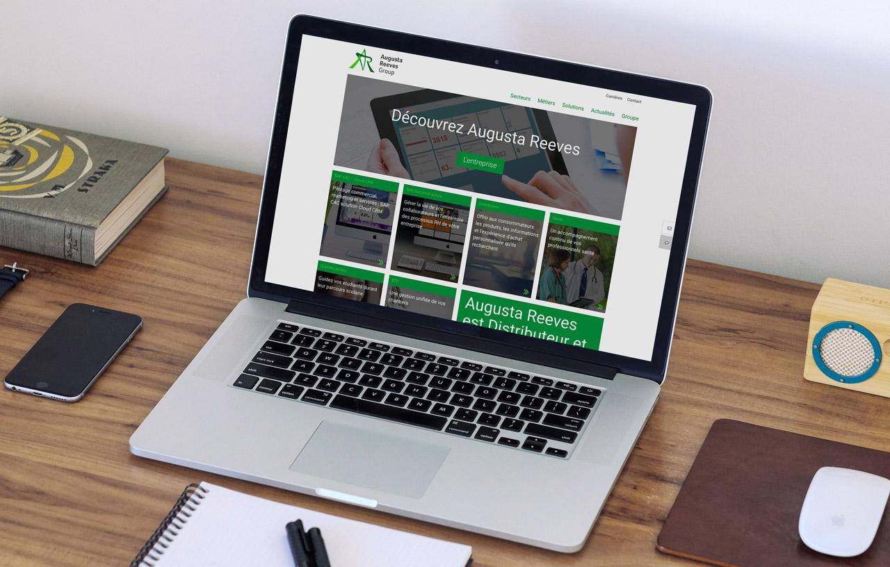Augusta Reeves nouveau site web