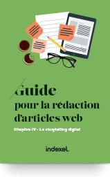 Guide pour la rédaction d'articles web : le storytelling digital