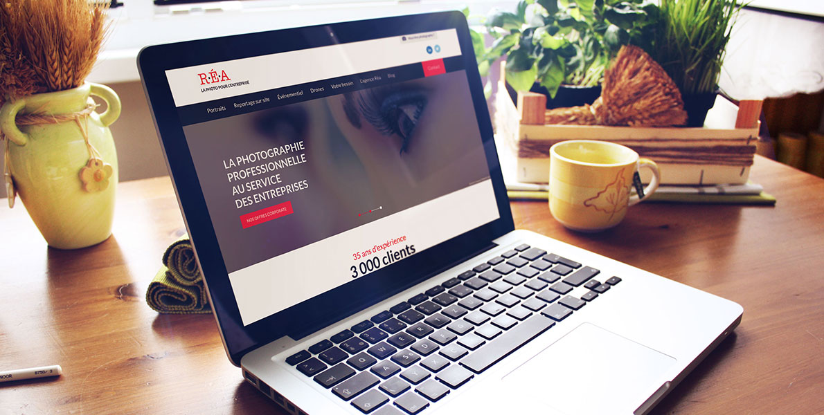homepage Agence REA