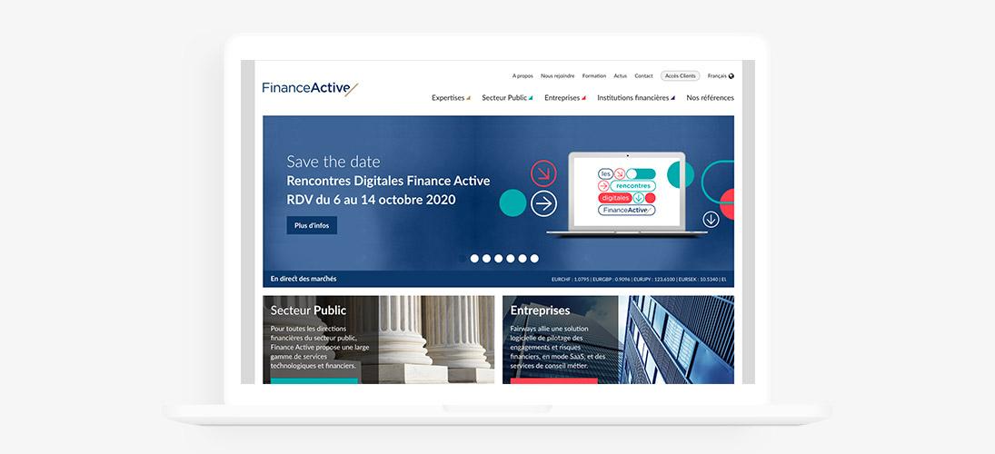 Finance Active site web