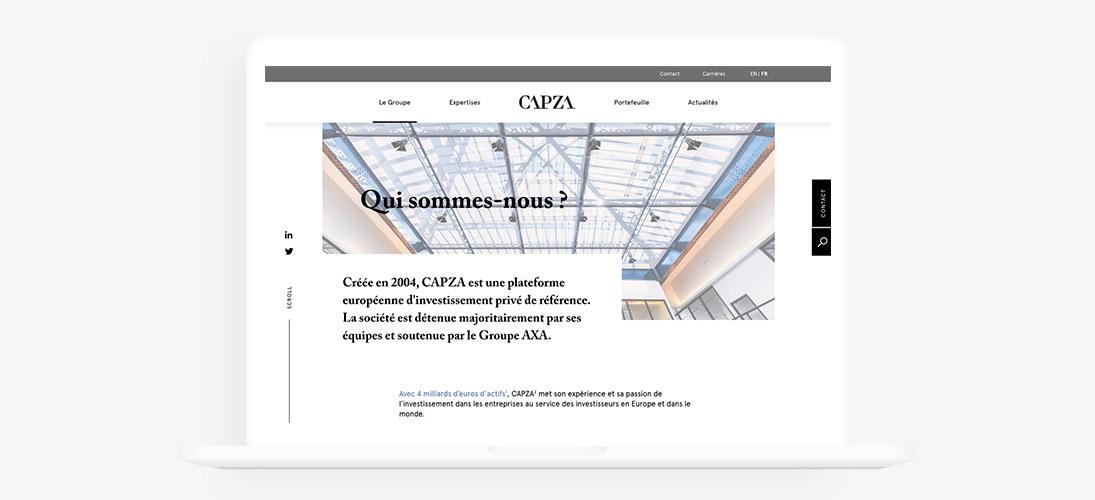 site web capza
