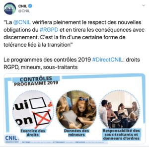 CNIL Twitter