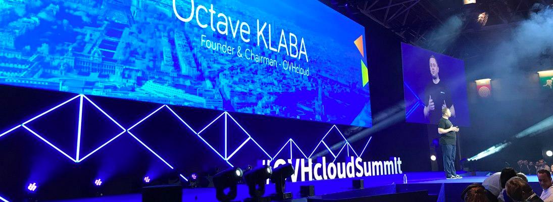 OVHCloud summit