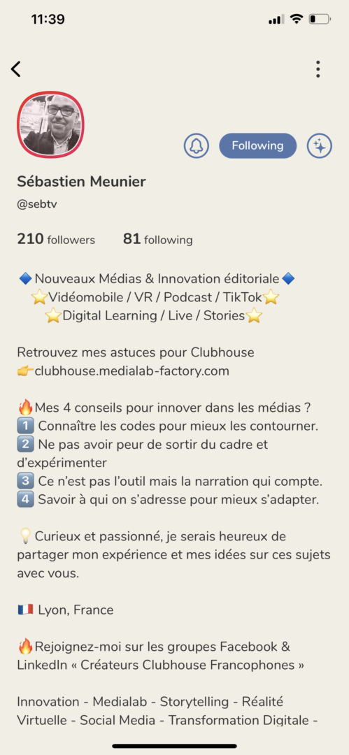 Clubhouse_bio